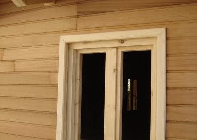 Casa de madera de alerce